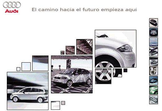 Linea de diseño de la multinacion Audi