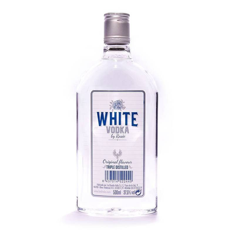 Vodka Rosee White- Plastic Bottle 0-5l #Vodka #Rosee