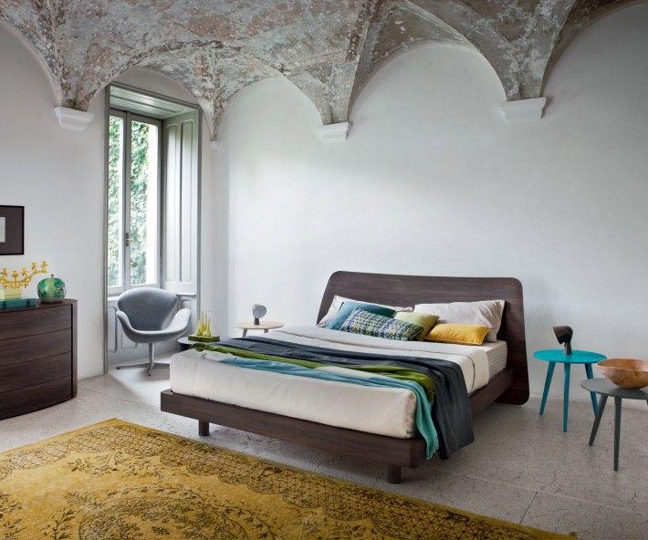 Novamobili Bett Sheet Schlafzimmer design, Rustikale