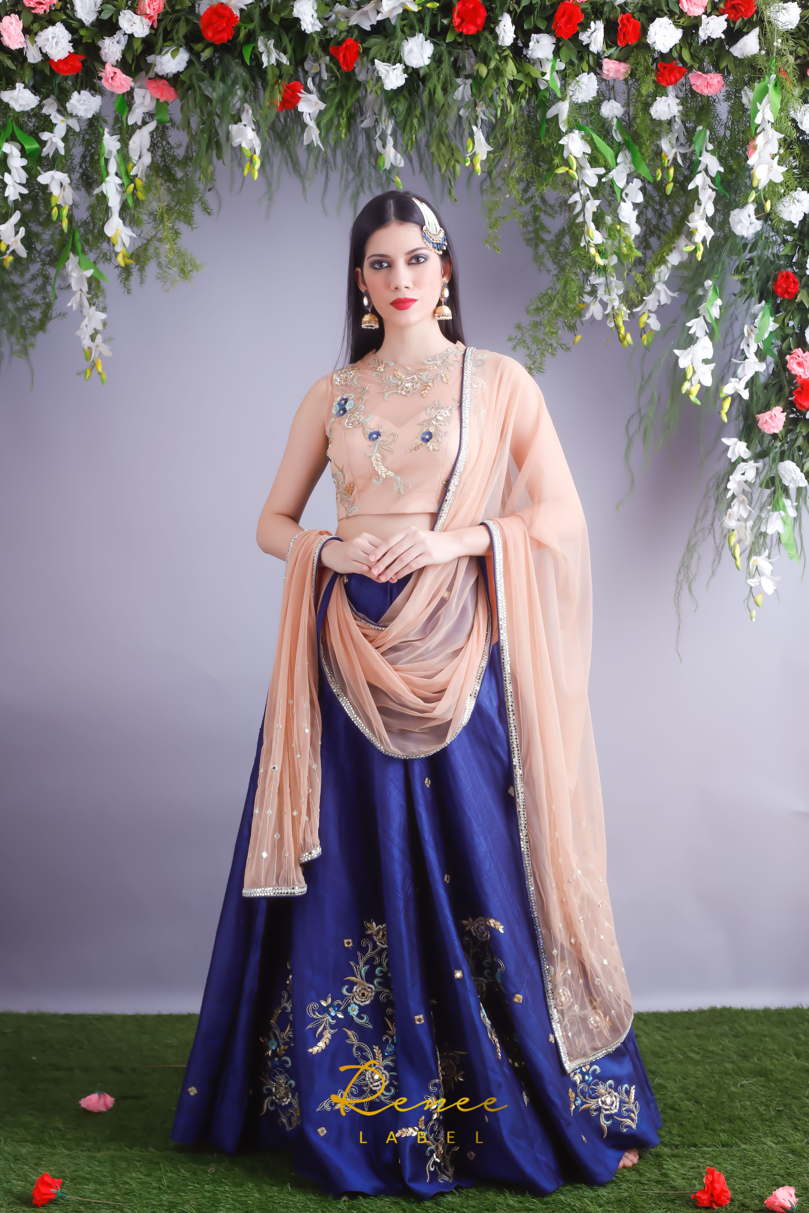 Peony lehenga set by Renee Label Traditional outfits