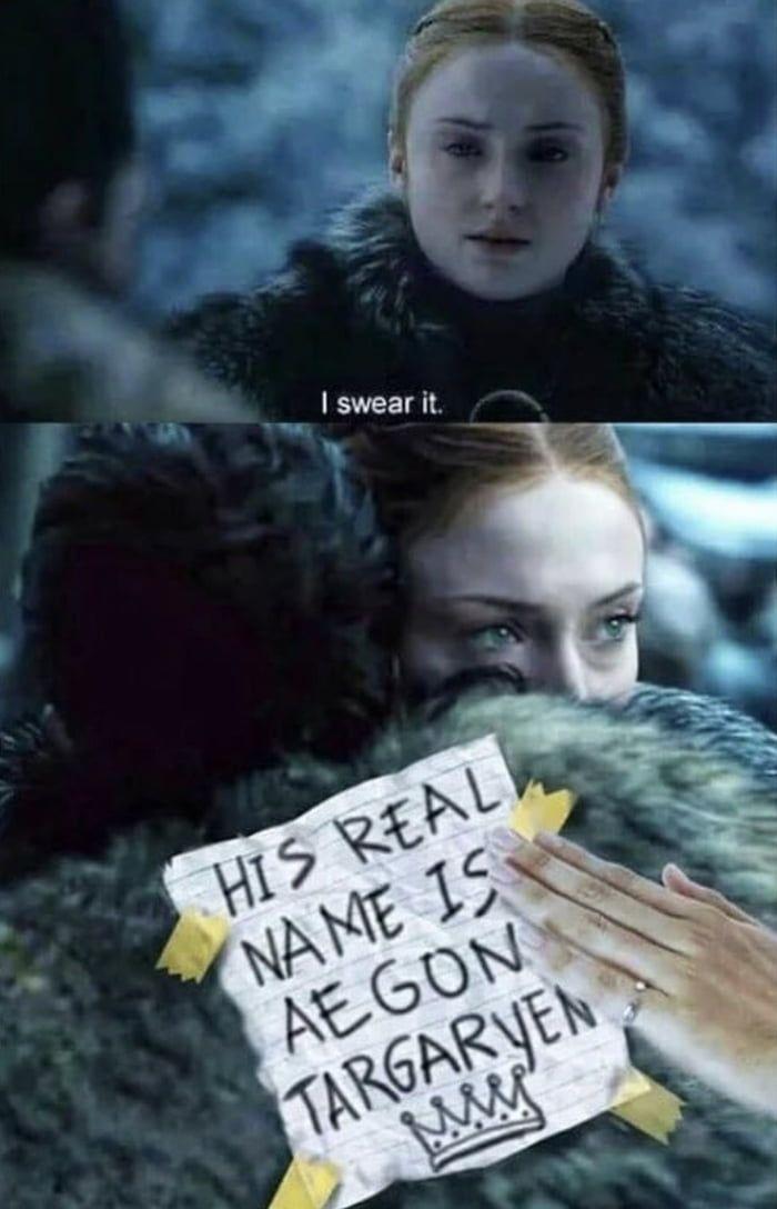 Ned Stark a gardé le secret pendant des années et elle n'a pas pu le faire pendant 5 minutes!