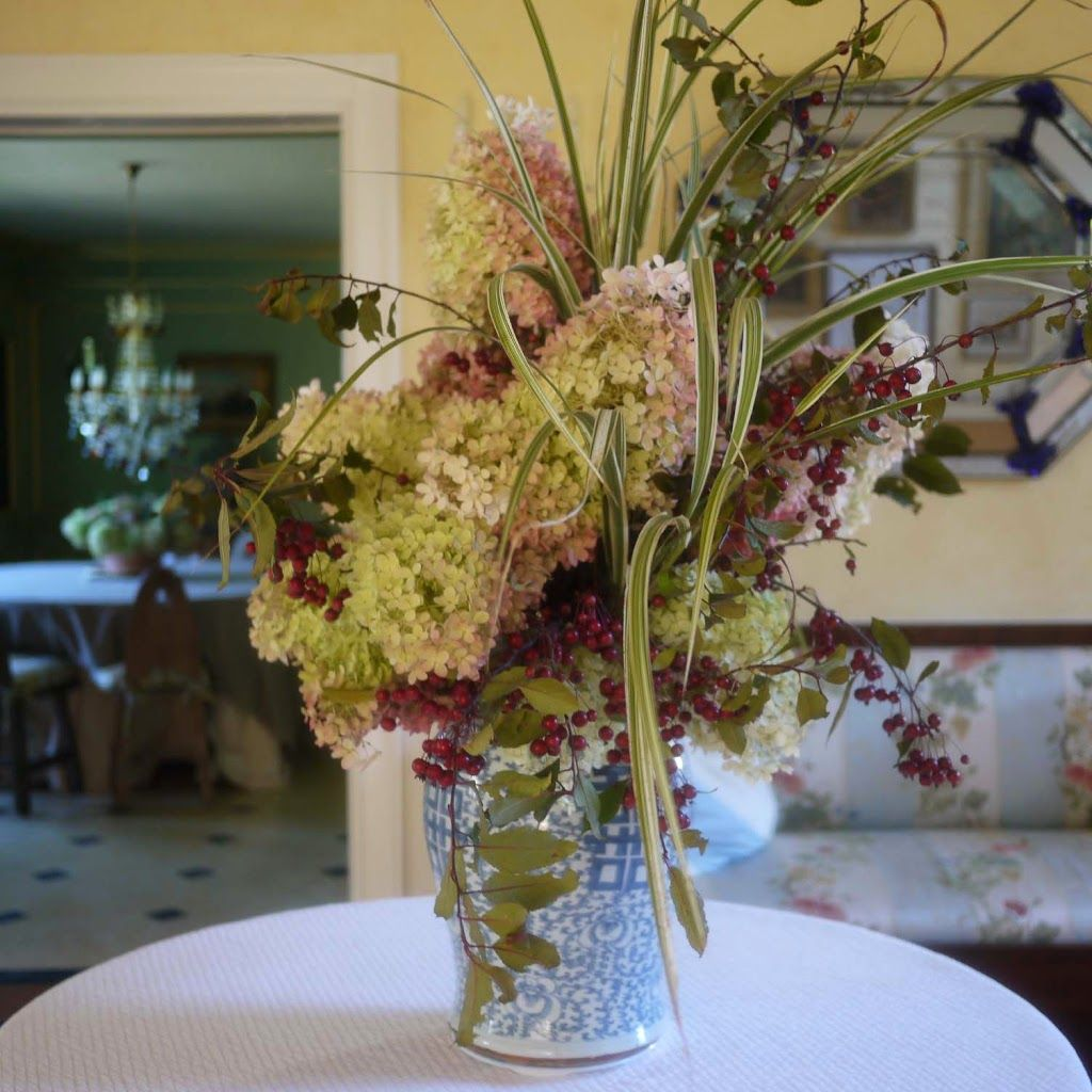 PG Hydrangeas Autumnal Flower Arranging Flower