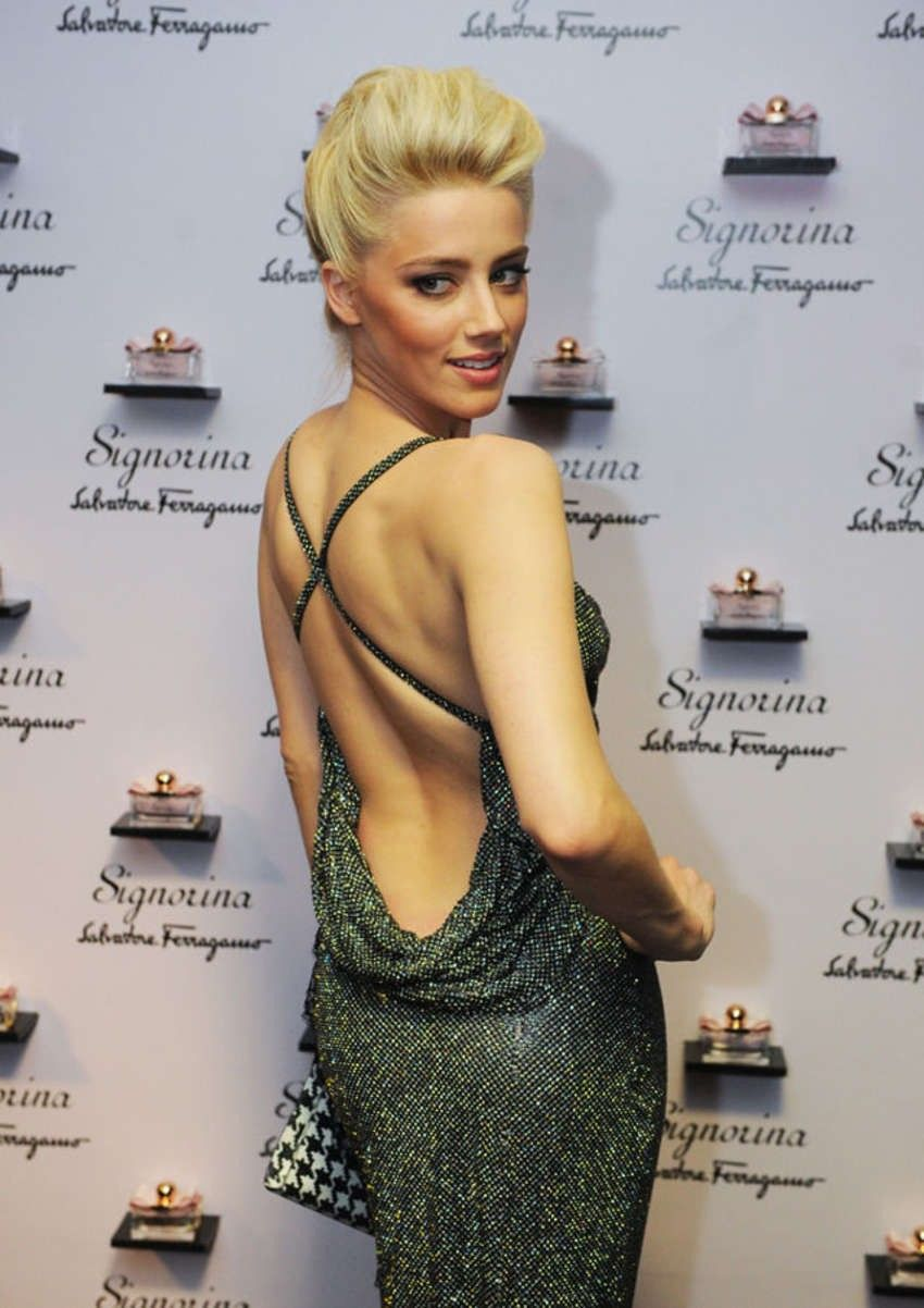 Actress Amber Heard of Hidden Palms speaks during the