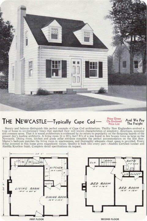 Early 20th Century Homes Cape Cod House Plans Vintage House Plans Cape House Plans