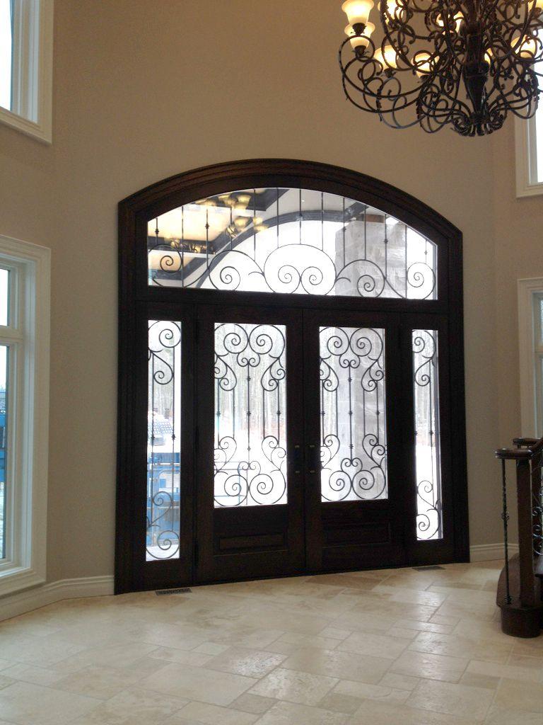 Amberwood Doors Inc: This Magnificent #Amberwood #custom #mahogany #double