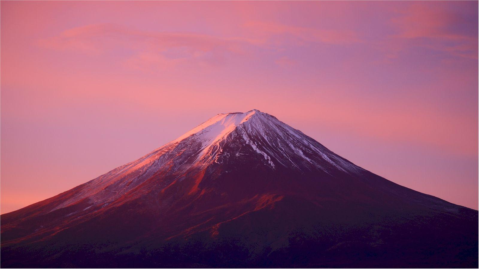 富士山の無料壁紙のページ 赤富士 画像あり 富士山 赤富士 綺麗