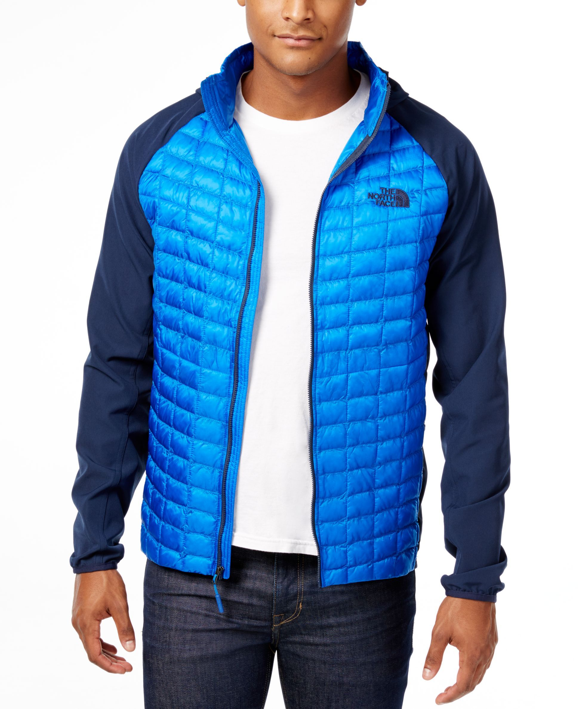 a6ec355a14ff The North Face Thermoball Mixed-Media Jacket | бомж в 2019 г.