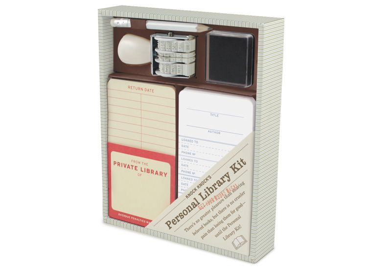 personal library kit.  i think i really need this.