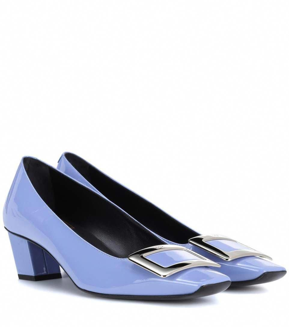 bb8cea0e75a5 ROGER VIVIER Belle Vivier patent leather pumps.  rogervivier  shoes ...