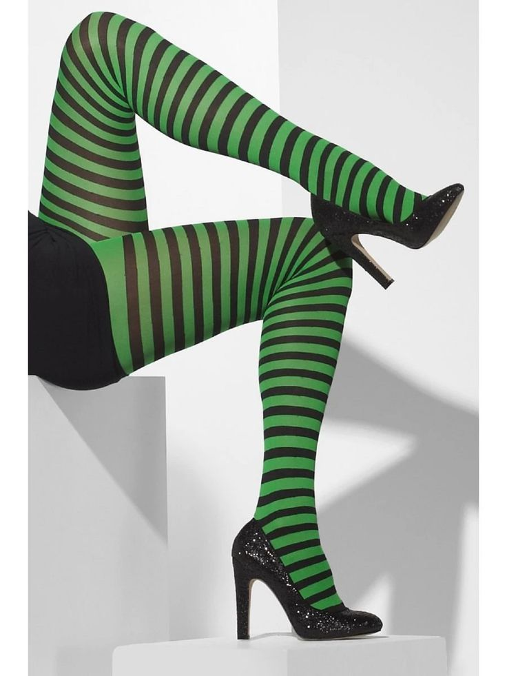 Opaque Tights Fancy Dress Woman Costume