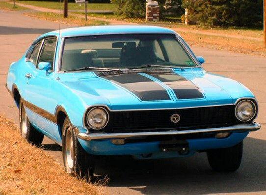 Cars Of The 1970s 1970 Ford Maverick Grabber 2 Door Am Fm 8