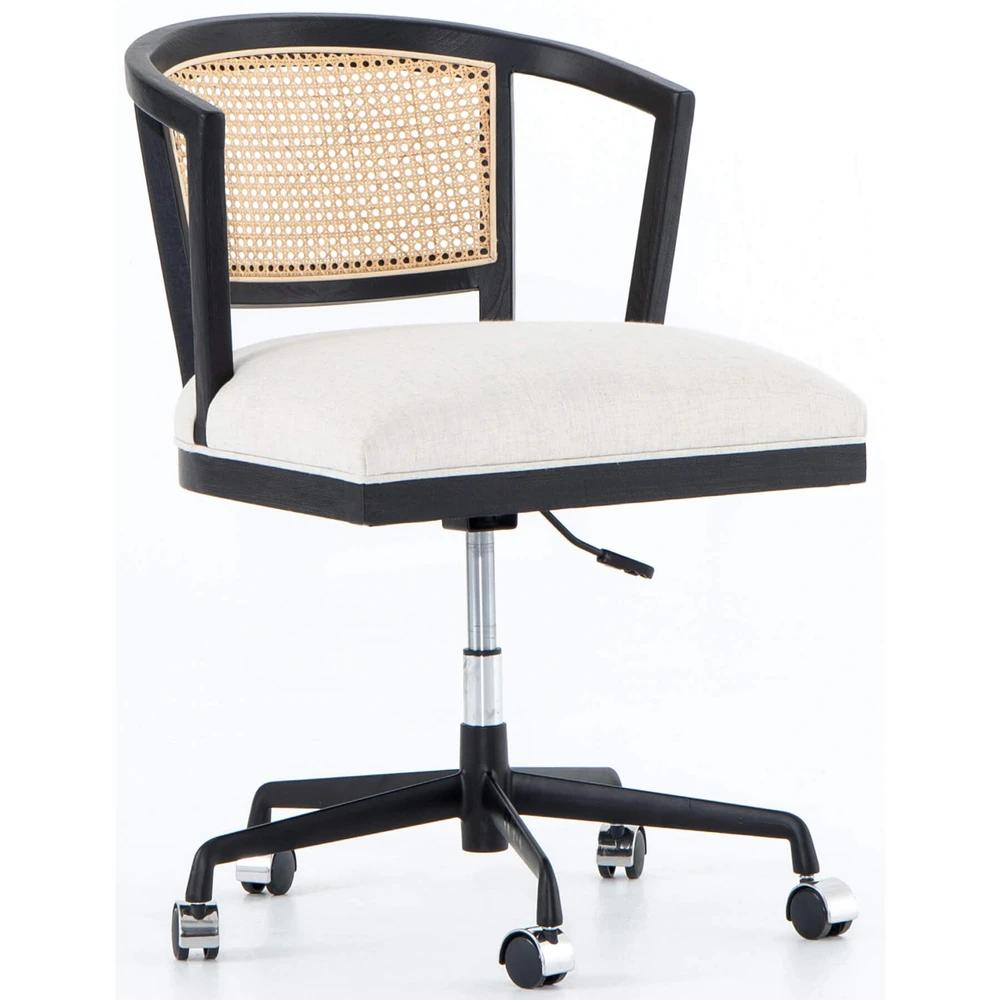 Alexa Desk Chair Savile Flax In 2020 Desk Chair Office Desk Chair Chair