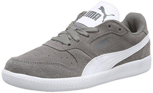 Puma Rebound v2 Lo Jr, Unisex-Kinder Hohe Sneakers, Weiß (White-Surf The Web 08), 32 EU (13 Kinder UK)