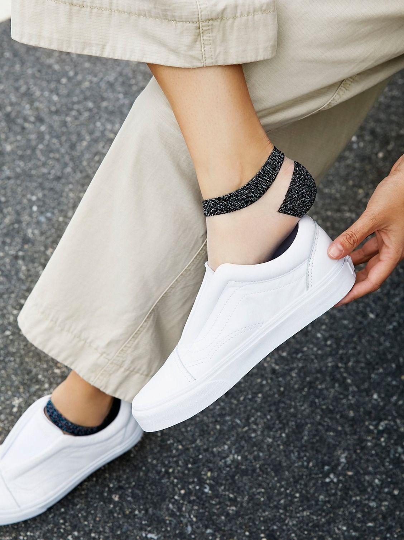 Caicos Lurex Anklet Zapatos Medias Tobilleras Y Tobilleras
