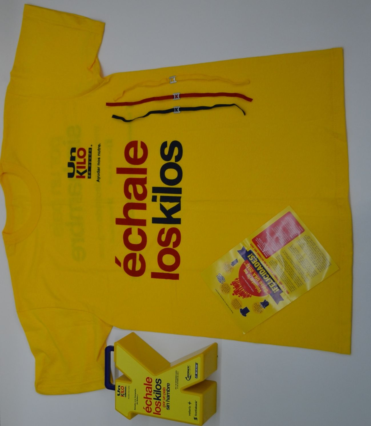 kit de voluntario de boteo
