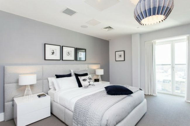 Beautiful Chambre Blanche Et Grise Contemporary - lalawgroup.us ...