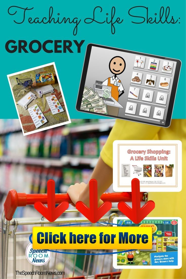 Grocery Shopping Life Skills Unit android iphone ios