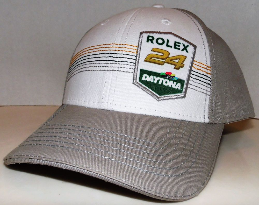 9d22e484 Rolex 24 Daytona International Speedway NASCAR Racing Velcroback Adjustable  Hat #Unbranded #BaseballCap