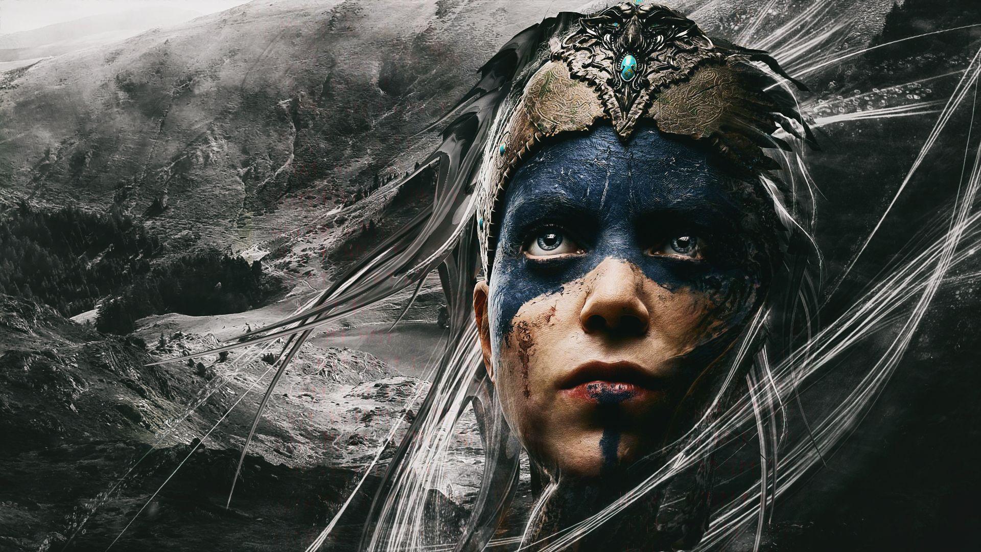 Hellblade Senuas Sacrifice Wallpaper Desktop Games