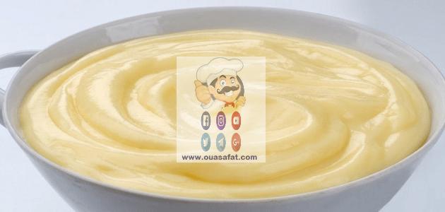 طريقة تحضير الكاسترد Custard Desserts Food