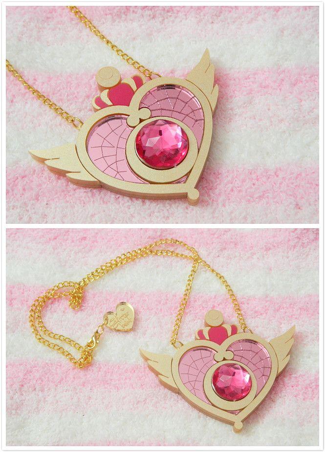 DIY INSPIRATION: sailor moon necklace