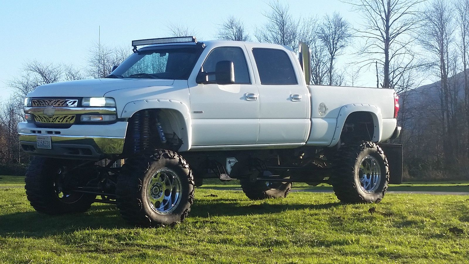Truck chevy 2500hd trucks : 2002 Chevrolet Silverado 2500 Monster Truck Duramax Diesel ...