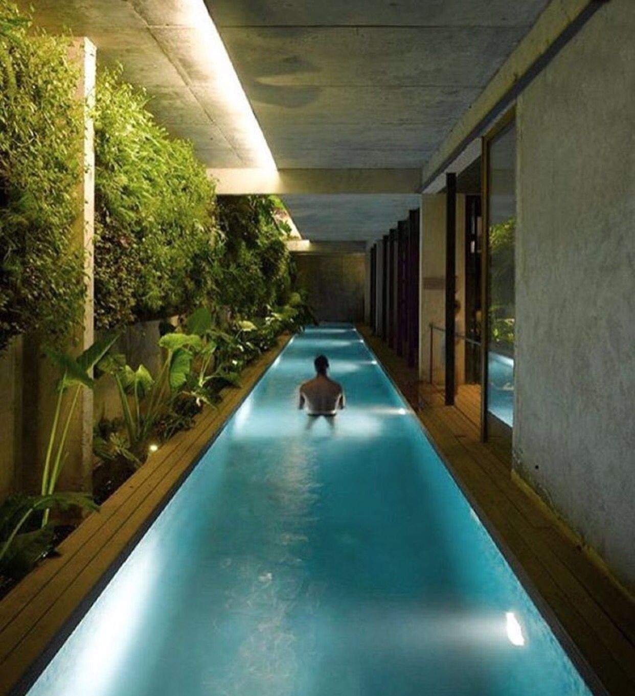 Lap Pool For 3 Rooms Pool Houses Swimming Pool Designs