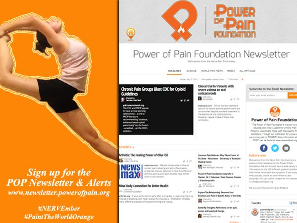 Nervember Task Sign Up For The Popf Monthly Newsletter And