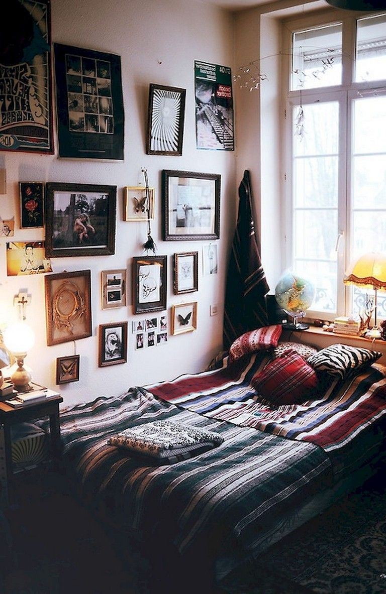 49 Top Apartment Bedroom Decor Ideas Boho Style Hipster Bedroom