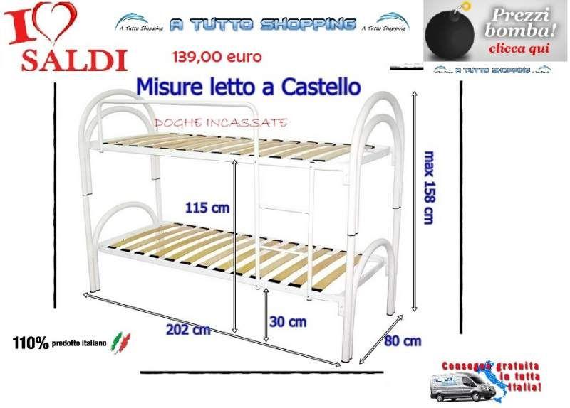Letto a castello in offerta | letti | Letti a castello, Arredamento ...