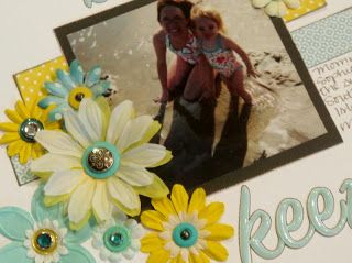 Ideas for Scrapbookers: Featured Artist Friday: Fancy Flowers by Jessica S.