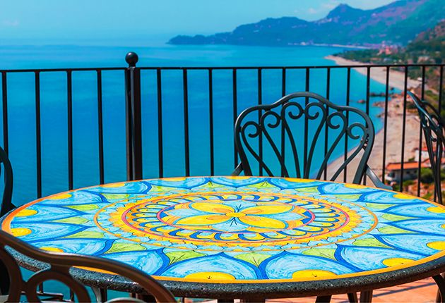 How To Create A Colorful Mosaic Table Top For Your Backyard Lawn