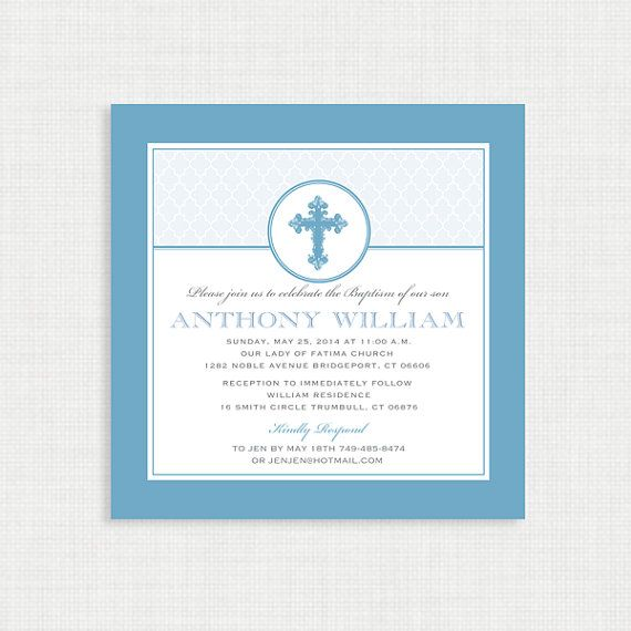 boy baptism invitation diy printable invite christening first