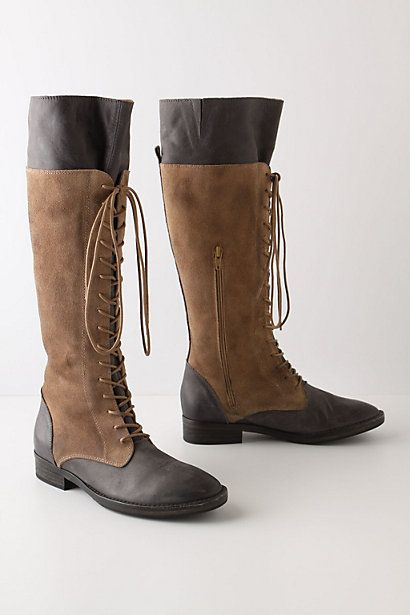 corset-laced boots
