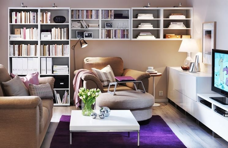Composizione soggiorno ~ Pensili soggiorno rustico mattsole