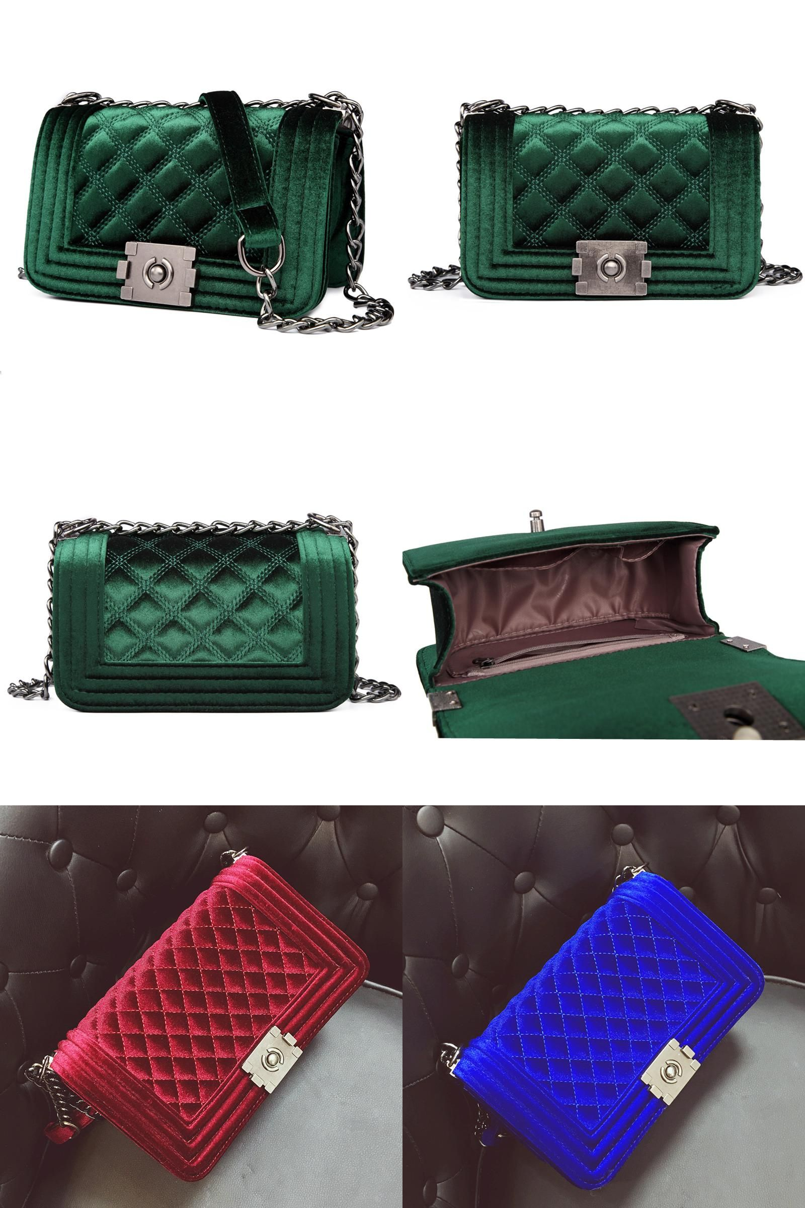... Women s Bags by Luggage   Bag Collections.  Visit to Buy  Velour Crossbody  bag Fashion Women Bag Luxury Handbags Women Purses Designer e5e04ed012d16