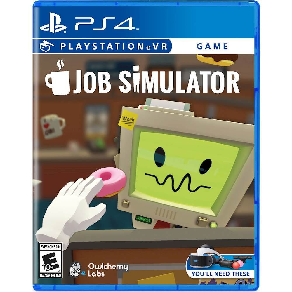 Just added to PlayStation 4 on Best Buy Job Simulator