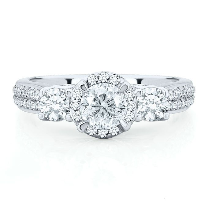 engagement rings under 10000 get the look - Helzberg Wedding Rings