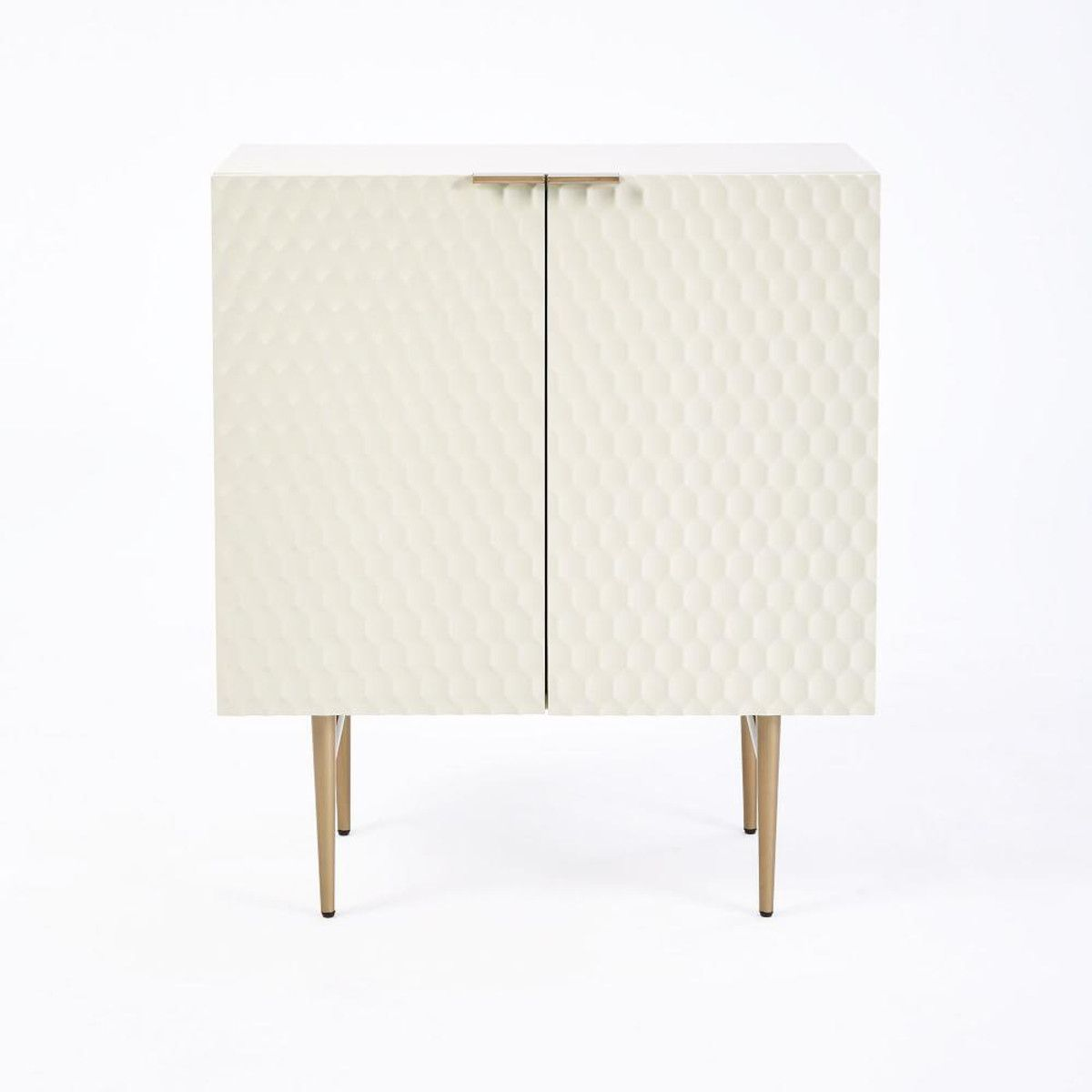 Audrey Small Cabinet Parchment Audrey Small