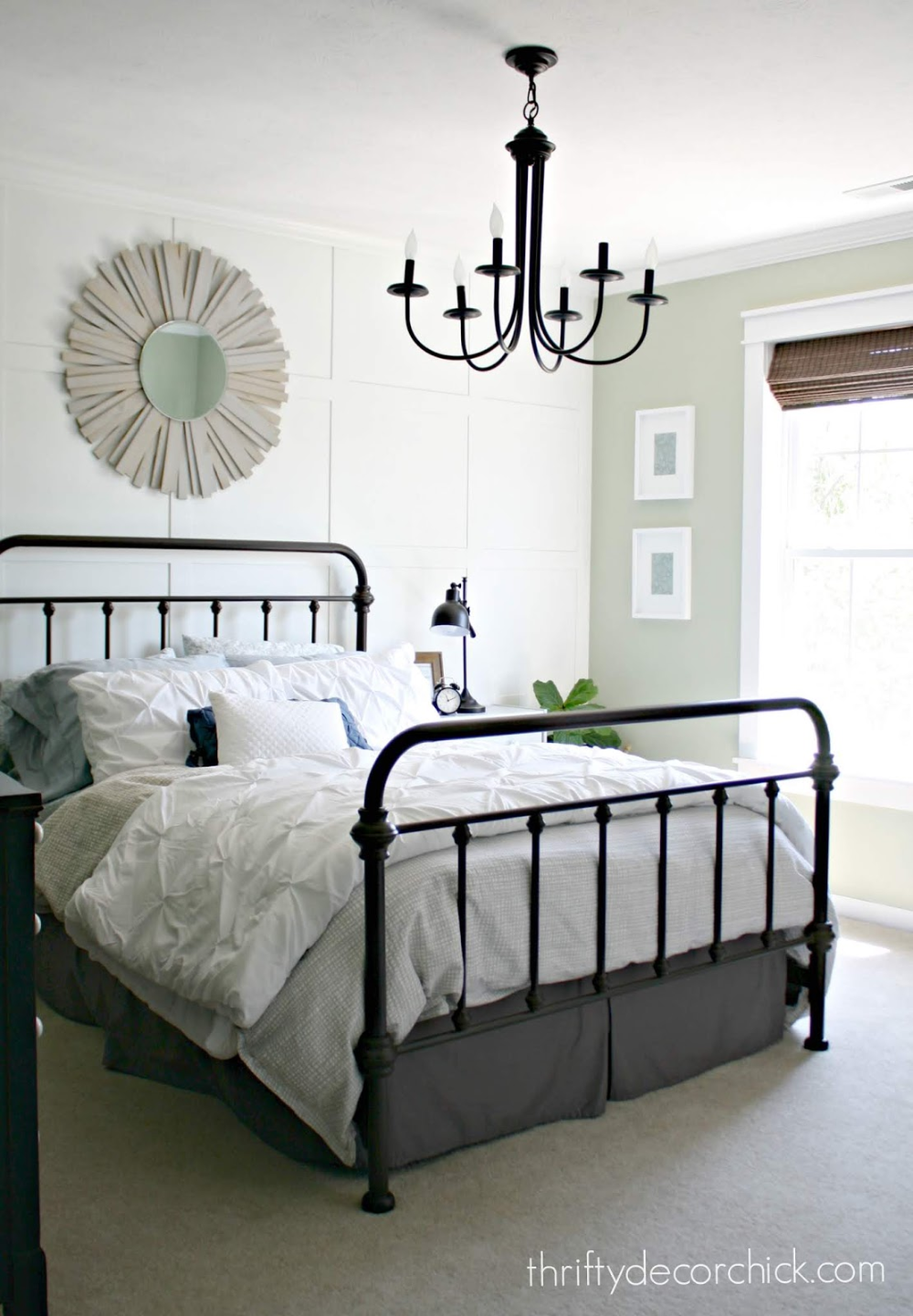 First look The guest room tour! in 2020 Light green