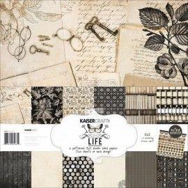 """Kaisercraft Art of Life 12""""x12"""" Paper Pack PK461"""