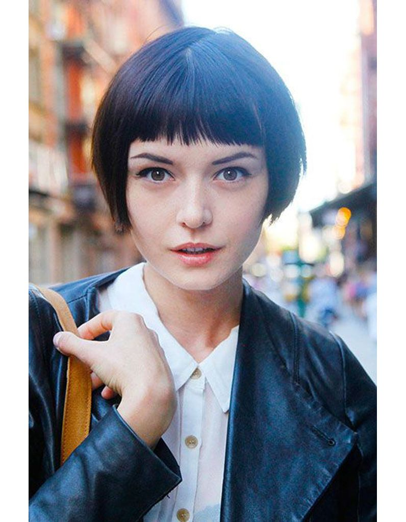 Coupe courte tendance hiver funky bob pinterest funky