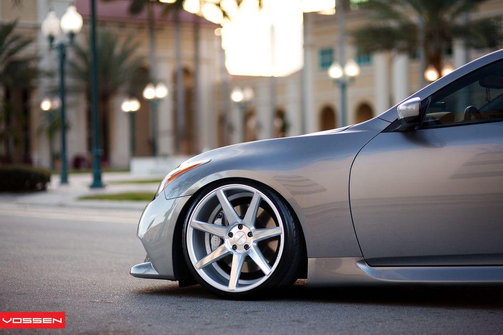 Infiniti Slammed Vossen Love These Rims Rims For Cars Amazing Cars Dream Cars