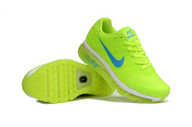 reputable site 30afe bb3c3 Nike Air Max 2017 Women Fluorescent Green Shoes