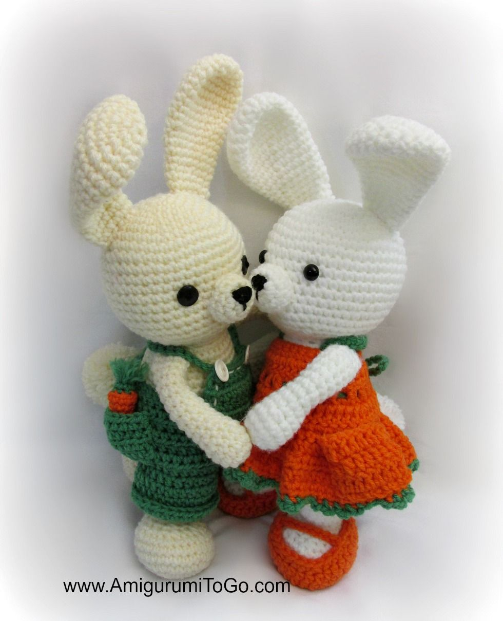 Carrot Dress For Dress Me Bunny ~ Amigurumi To Go | Ostern ...