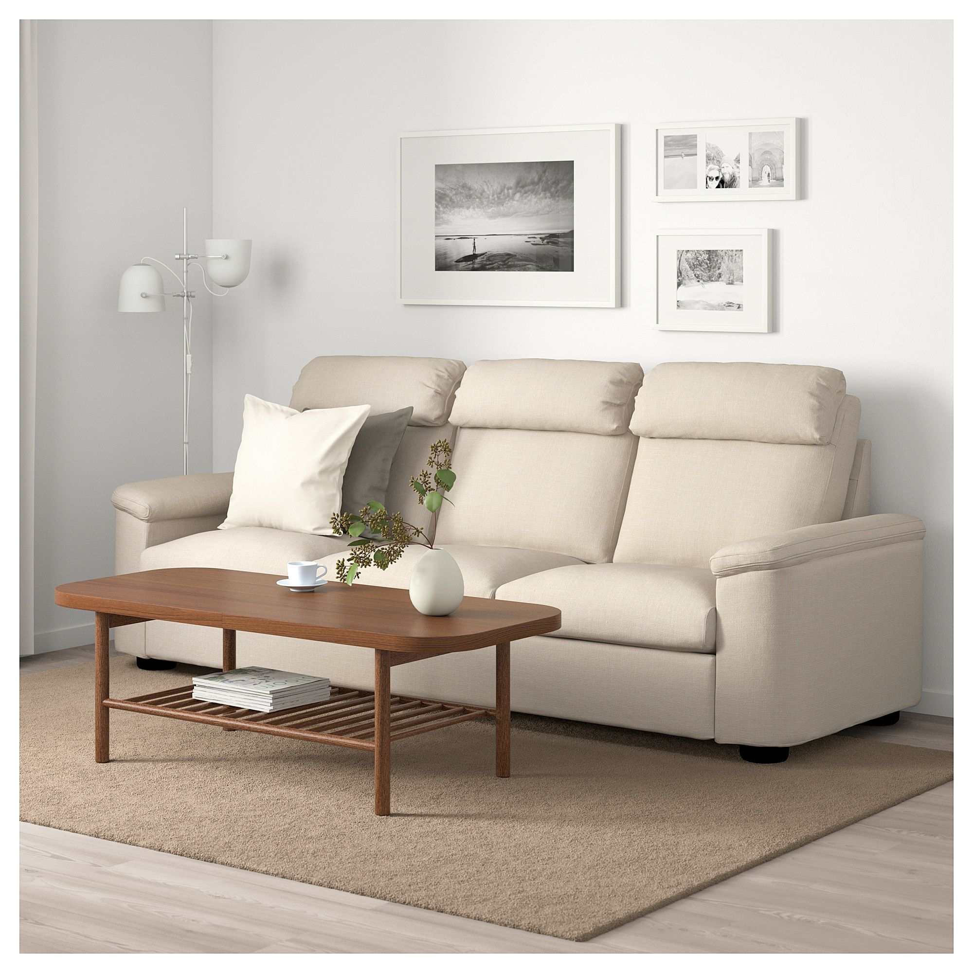 Fantastic Ikea Lidhult Sofa Gassebol Light Beige Home In 2019 Download Free Architecture Designs Ogrambritishbridgeorg
