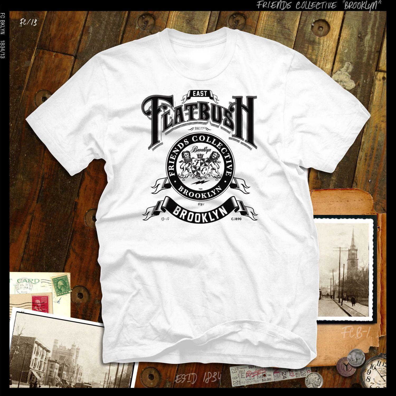 East Flatbush Brooklyn N.Y. T-shirt by FriendsCollective on Etsy https   www c19e3205bc1