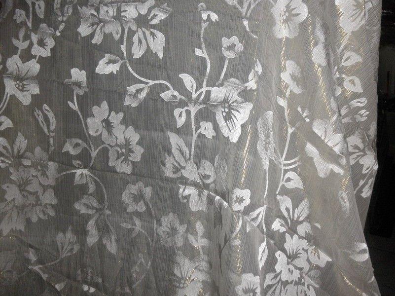 BURNOUT SATIN STRIPE CHIFFON-BLACK FREE P+P DRESS//BRIDAL FABRIC