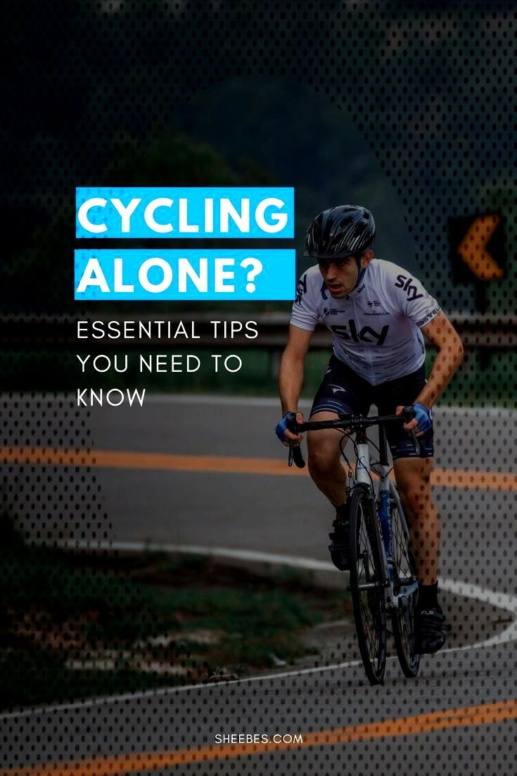 Cycling alone is the perfect opportunity for you to destress and master your cycling skills. But be