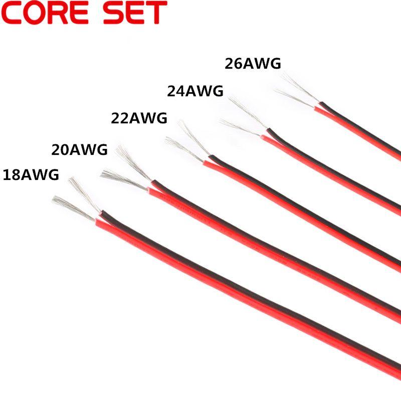 10 meters 1820222426 gauge awg electrical wire tinned copper 10 meters 1820222426 gauge awg electrical wire tinned keyboard keysfo Gallery